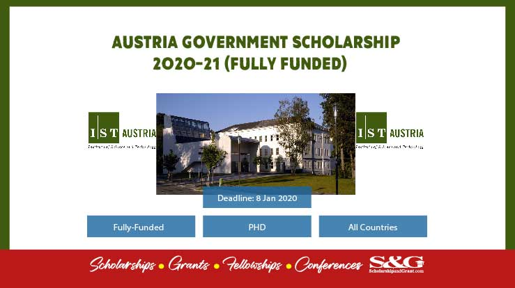 Austria Government Scholarship 2020-21 (Fully Funded)
