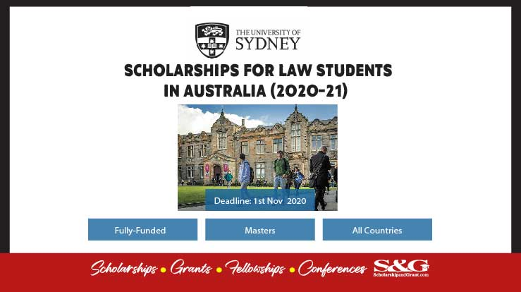 Scholarships for Law Students in Australia (2020-21)