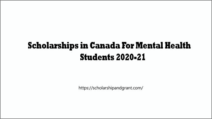Scholarships-in-Canada-For-Mental-Health.