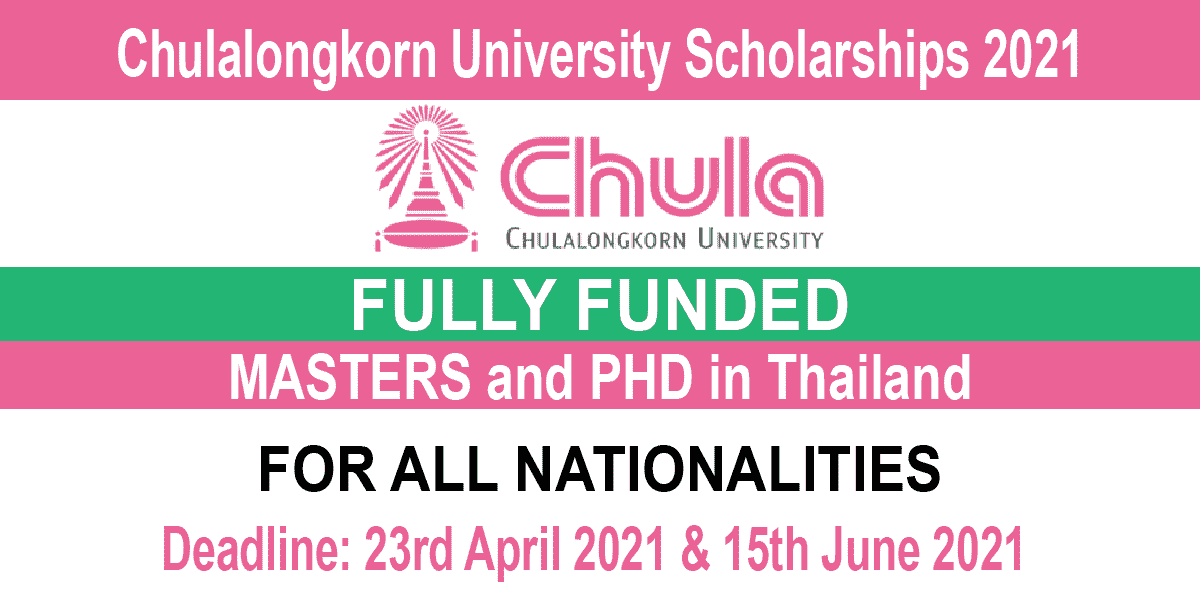 Chulalongkorn University Scholarships