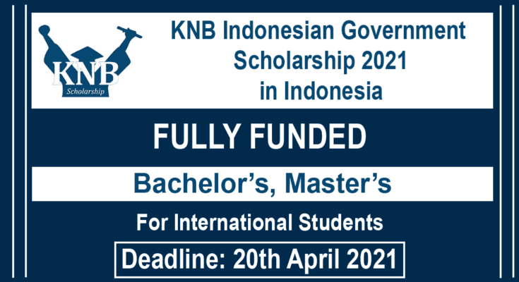 KNB Indonesian Government Scholarship