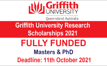 Griffith University Research Scholarships