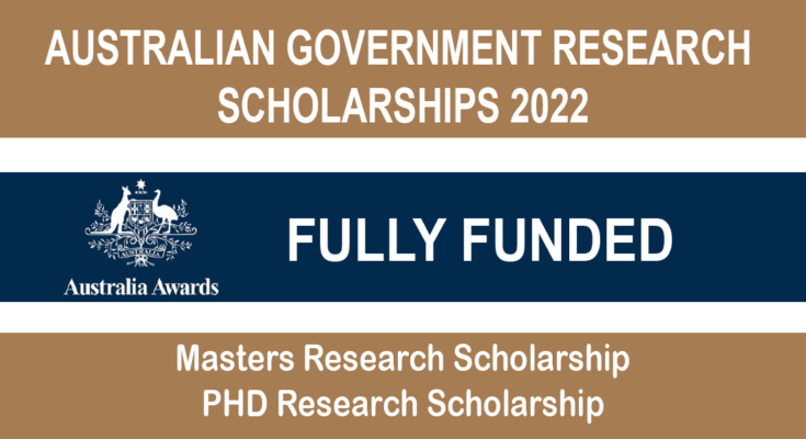 Australian Government Research Scholarships